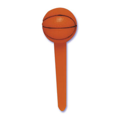 Bakery Crafts Basketball Cupcake Picks