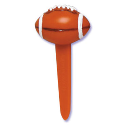 Bakery Crafts Football Cupcake Picks