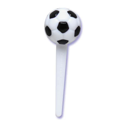 Bakery Crafts Soccer Ball Cupcake Picks
