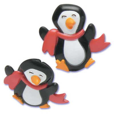 Bakery Crafts Penguin Puffy Rings