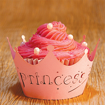 Cupcake Wrappers Princess Design