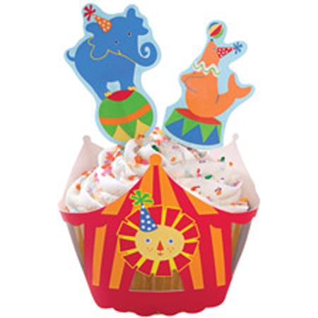 Wilton Big Top Cupcake Wraps'n Pix