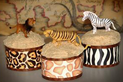 Roundabout Animal Prints Cupcake Wrappers 12 ct.