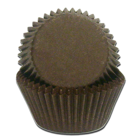 Jumbo Black Baking Cups