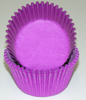 Purple Baking Cups