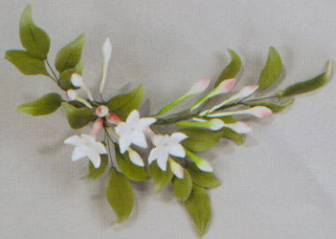 Summer Jasmine Spray Gumpaste Flower 2-Pk.