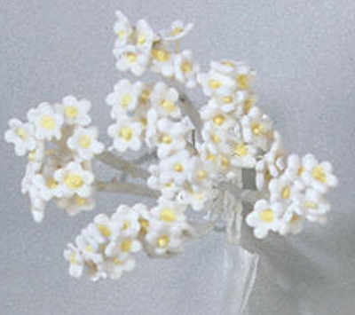 Gumpaste Hand Made Baby's Breath- 3 Per Package