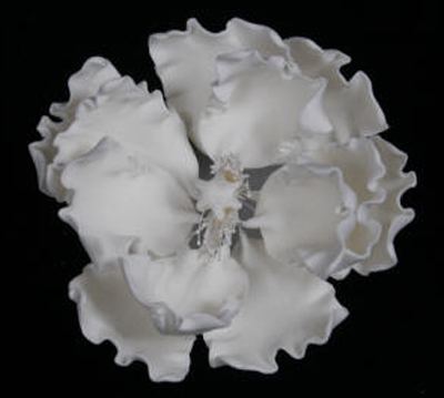 Gumpaste Hand Made Peony   1 Per Package