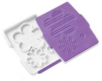 Wilton Button Flower Fondant Cut & Press Set