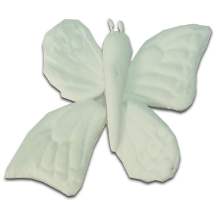 Medium Gumpaste Hand Made Embossed Butterflies   3 Per Package