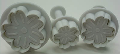 Ateco Gerber Daisy Ejector Set - Sugar Paste Cutters