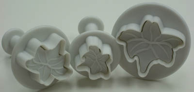 TBK Lily  Ejector Set - Sugar Paste Cutters