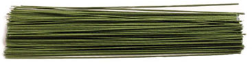 TBK 24 Gauge 12-inch Covered Floral Wire 25ct Pack