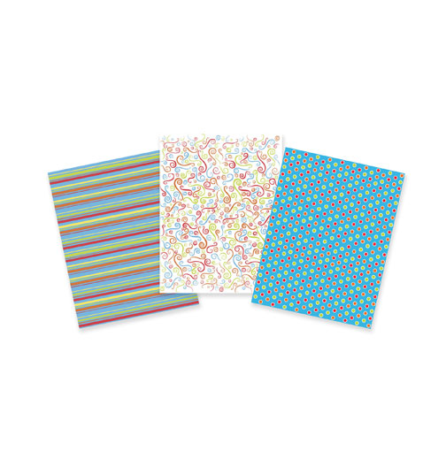 TBK Celebration Variety Pack Designer Prints Sheets 3-Pk.