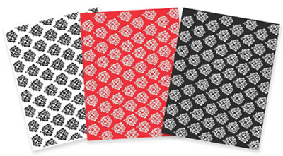 Damask Variety Pack Designer Prints Sheets 3-Pk.