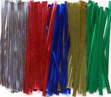 TBK Metallic Twist Ties