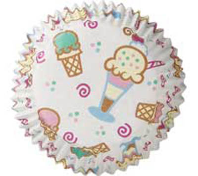 Ice Cream Baking Cups