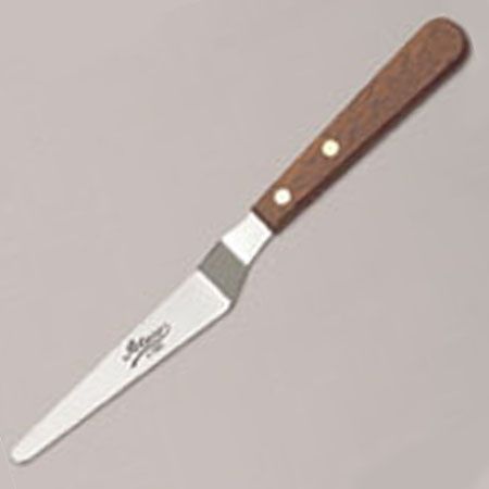Small Tapered Offset Icing Spatula With 5 Inch Blade