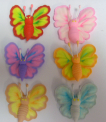 Autumn Butterfly Icing Sugar Decorations