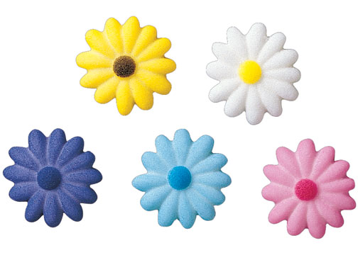 Lucks Daisies Sugar Decorations
