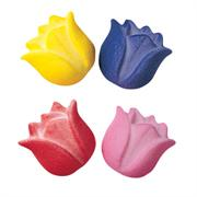 Lucks Tulips Medium Assortment of Colors Sugar Decorations