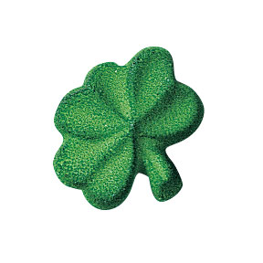 Lucks Shamrock Small Sugar Decorations
