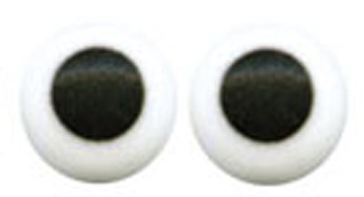 TBK 3/16 in. Candy Eyes White - 1000 Count Pack