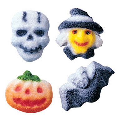 Halloween Charms Sugar Decorations