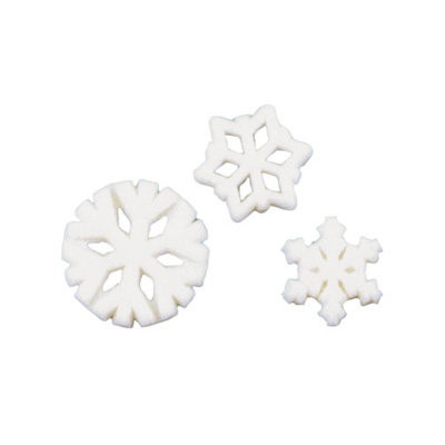 Snowflake Assortment Sugar Decorations