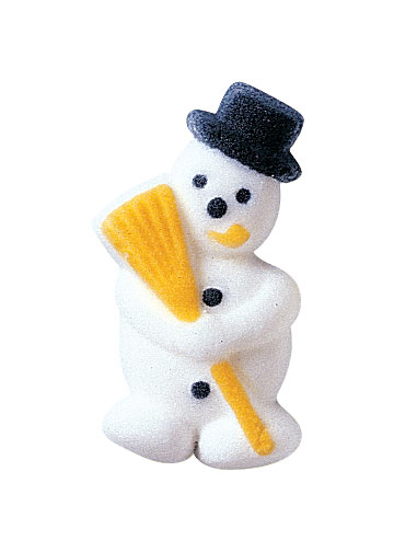 Lucks Snowman Sugar Decorations