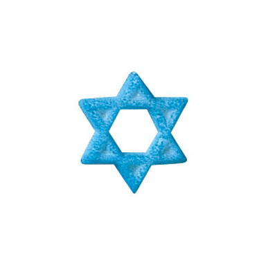 Lucks Star of David Sugar Icing Decorations