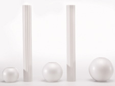 Wilton Globe Pillar & Base Sets