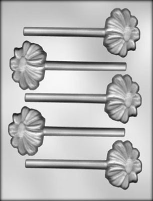 CK Products Daisy Chocolate Sucker Candy Mold
