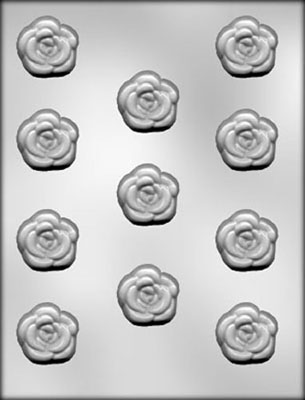 Rose Chocolate Candy Mold