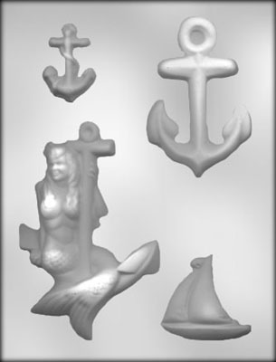 Nautical Asst. Chocolate Mold