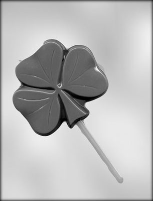 Giant Shamrock Sucker Mold