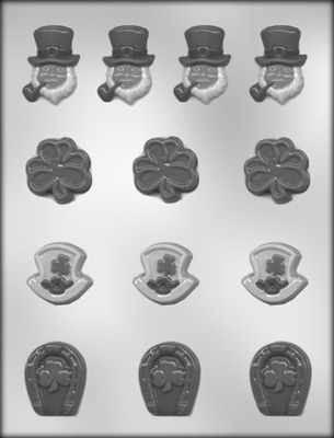 St Pats Asst Chocolate Mold