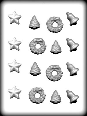 CK Products Christmas Assortment Hard Candy Mold
