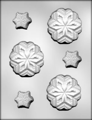 Snowflake Chocolate Mold