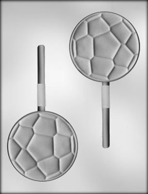 CK Products Soccer Ball Chocolate Sucker Mold