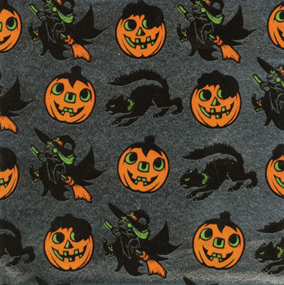 4 in X 4 in Halloween Candy Wrappers
