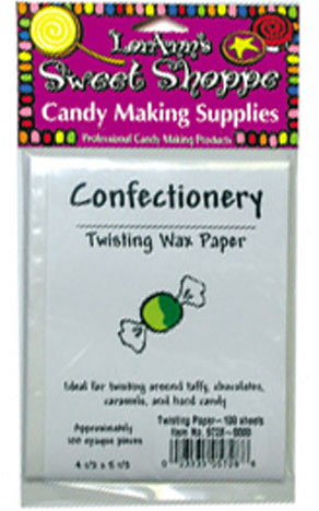 Confectioners Wax Paper Squares