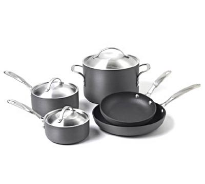 Simply Calphalon Nonstick 8-Pc. Cookware Set