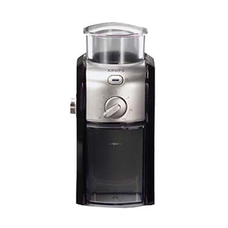 Krups GVX2 Burr Mill Coffee Grinder - Black & Metal