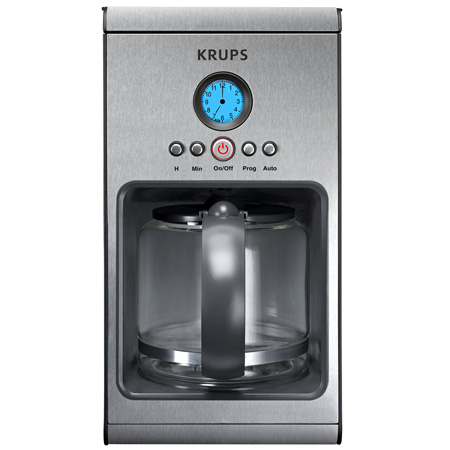 Krups KM1000 10 Cup Glass Programmable Coffee Machine