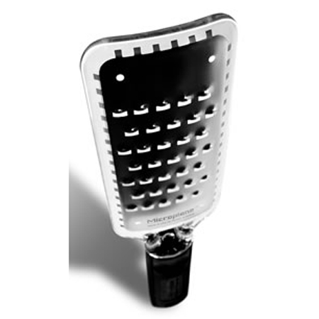 Microplane Extra Coarse Grater with Black Handle