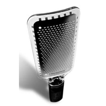 Microplane Spice Grater with Black Handle