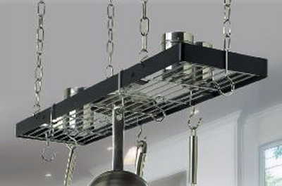 Rogar Small Rectangular Pot Racks with Grid