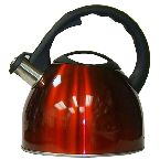 TBK Red Whistling Tea Kettle