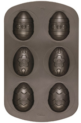 Wilton Decorated Egg Mini Cake Pan